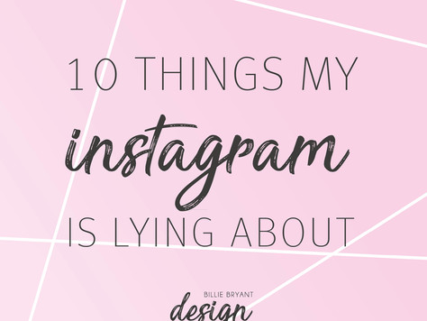 The 10 things you won't guess about me from my Instagram account…