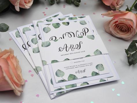 My Wedding Stationery Launch