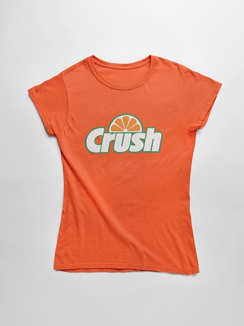 Blusa Camisa Camiseta T-shirt Feminina Estampada Crush