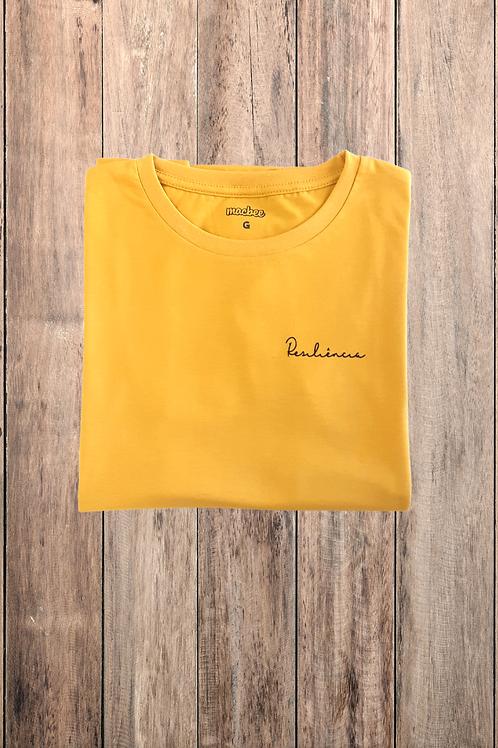 Camiseta Tshirt Baby Look Estampada Resiliência