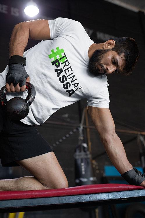 Camiseta Fitness Treina Que Passa