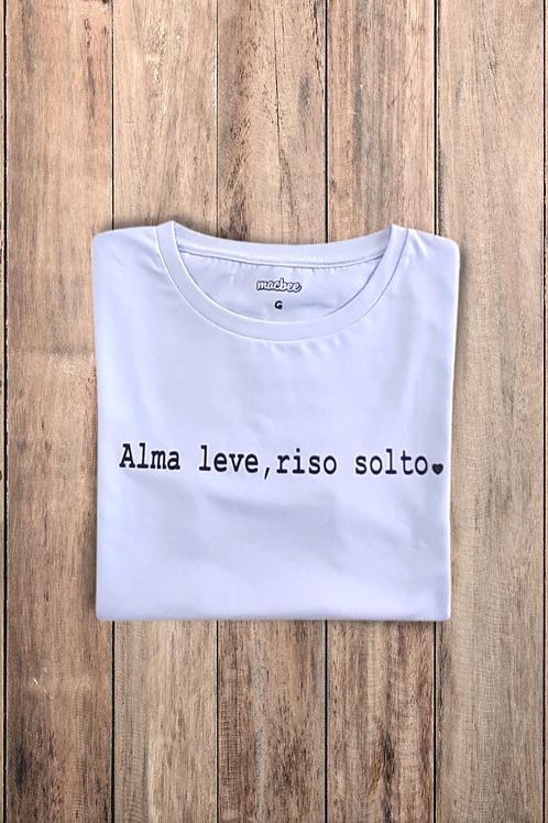 Camiseta Tshirt Baby Look Alma Leve