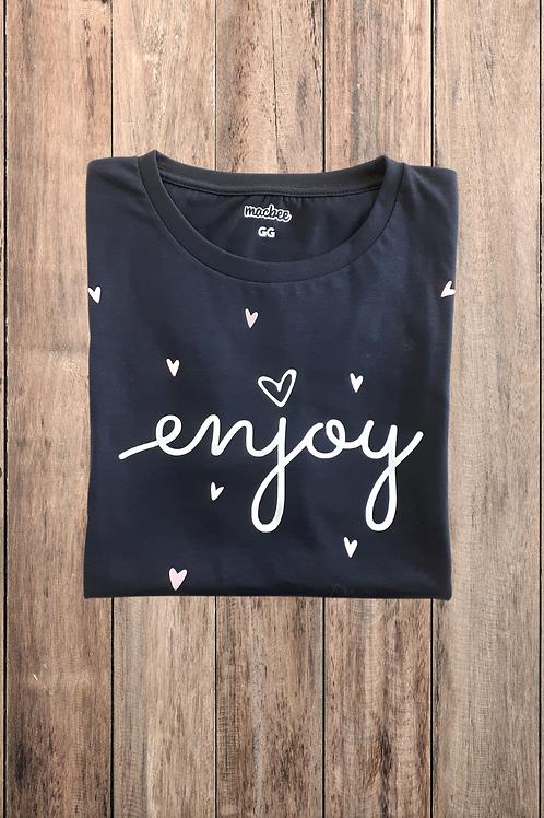 Camiseta Tshirt Baby Look Enjoy