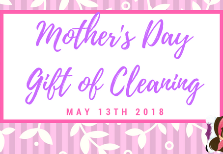 Mother's Day: In Yuma County? Give Mom the Gift of Cleaning