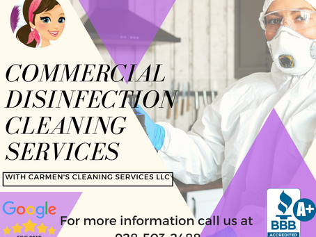 Yuma Disinfection and Sanitation Cleaning Services