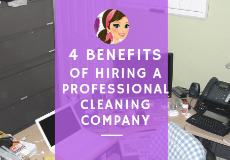 4 Benefits of Hiring a Professional Commercial Cleaner