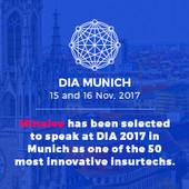 Minalea sélectionnée parmi 50 Insurtech mondiales pour participer à DIA Munich 2017