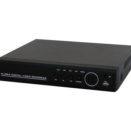 DVR 16 Canais Saída HDMI BNC Saída de Áudio