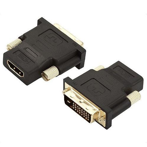 Adaptador DVI (24+1) M x HDMI