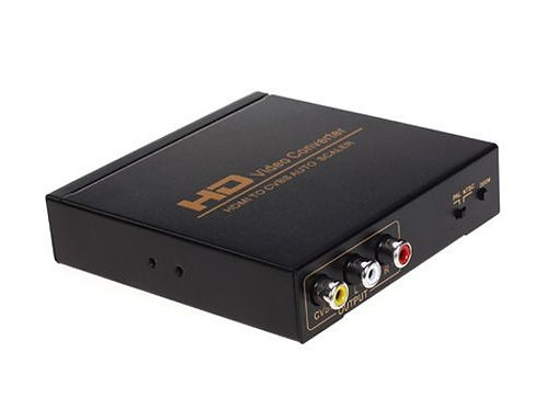 Conversor HDMI p/ AV Super Vídeo