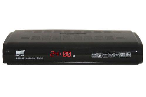 Receptor Parabólica Analógico-Digital BS6000