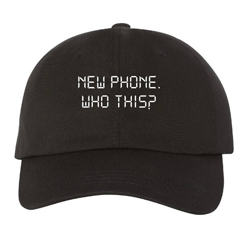 """New Phone"" Hat"