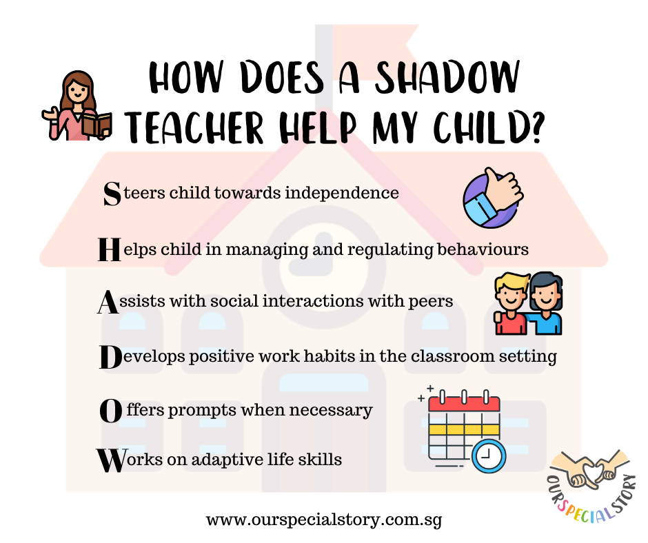 Shadow teacher in school