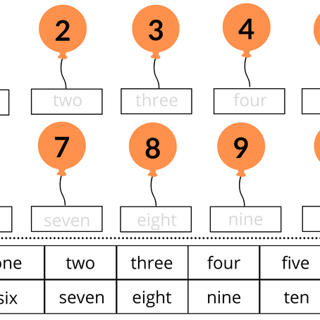 Learn to read number words!