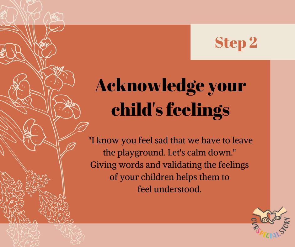 Managing tantrums