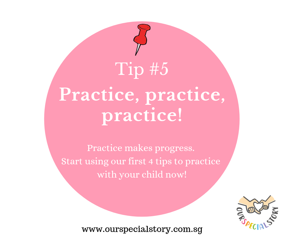 Improve speech- Practice!