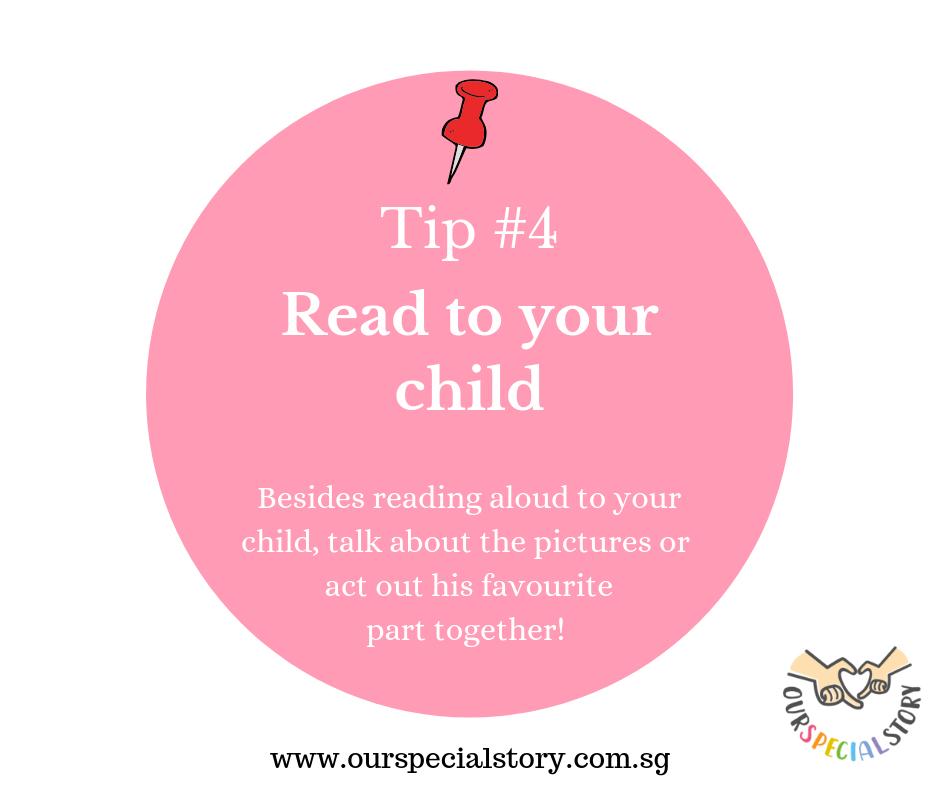 Improve speech- Read books!