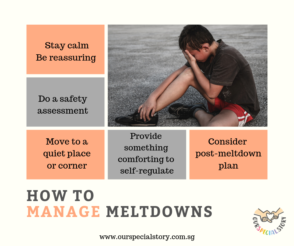 How to manage meltdowns