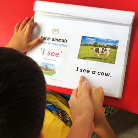 Farm Animals Learn to Read