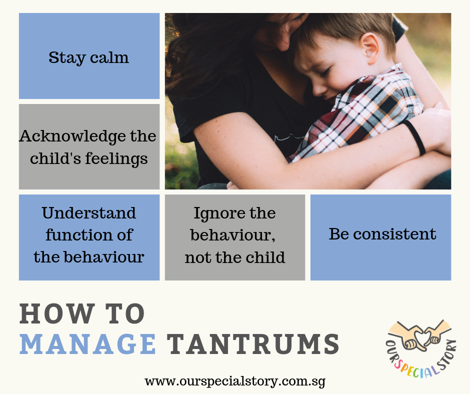 How to manage tantrums