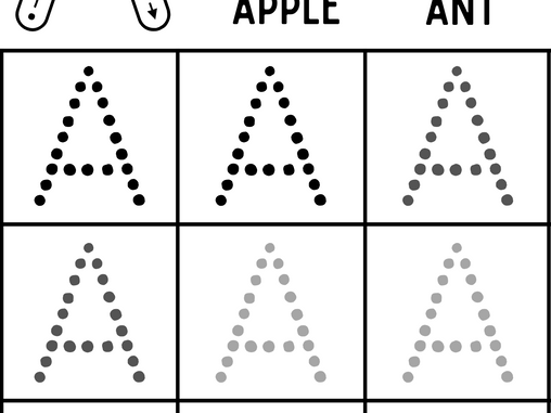 Learn to Trace and Write Alphabets!