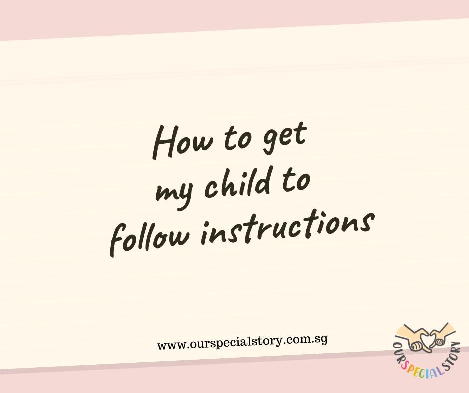 Follow instructions