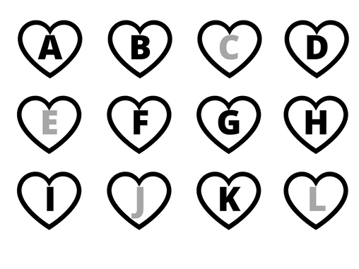Alphabets Cut and Paste