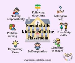 Social skills kids need in class