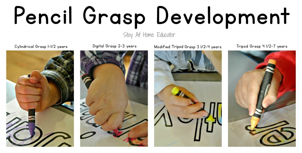 Pencil Grasp Development