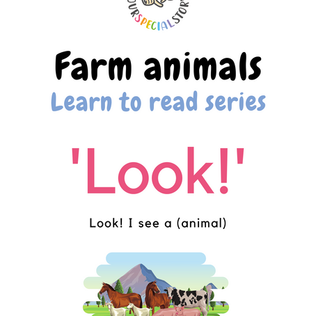 Kick start your child's reading skill! Join us in our 'Learn to read series'!