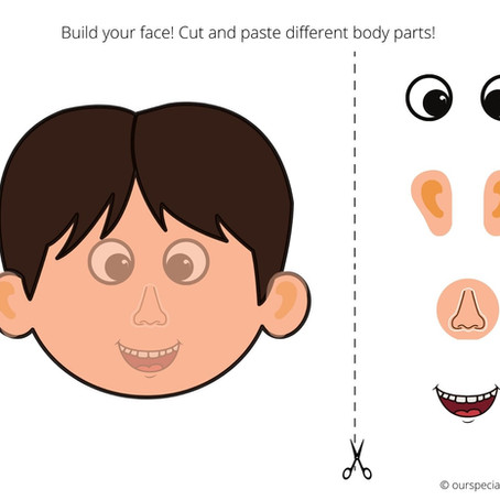 Cut and Paste Body Parts! Human and Monster Style~