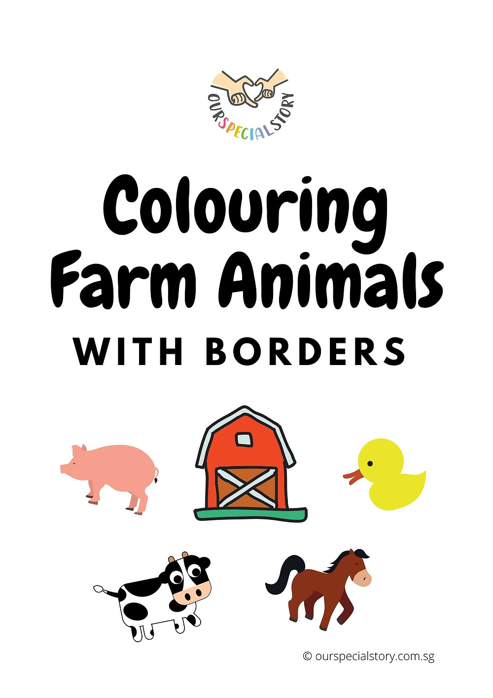 Learn how to colour with Our Special Story