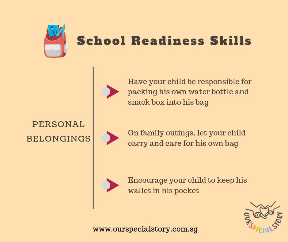 School Readiness Skills