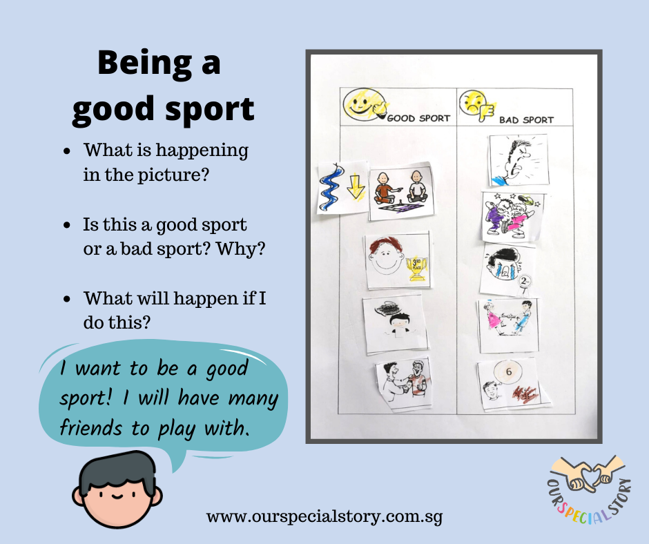 Social skill: Being a good sport