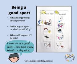 Social skill: Being a good sport