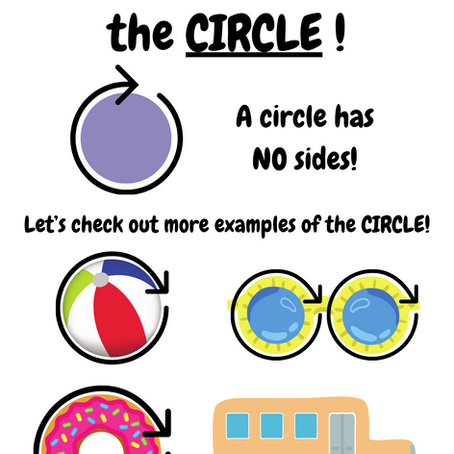 Identify shapes and its characteristics!