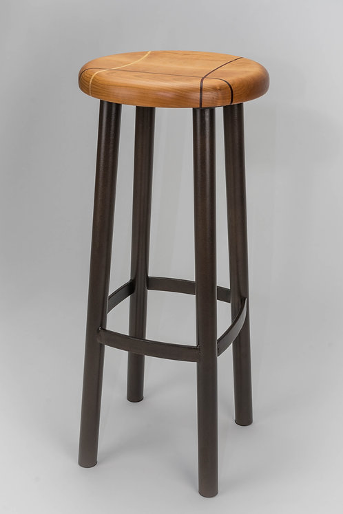 #202 Standard Stool Tall - Cherry/Leatherwood