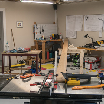 TABLE SAW SETUP FOR RIPPING STRIPS