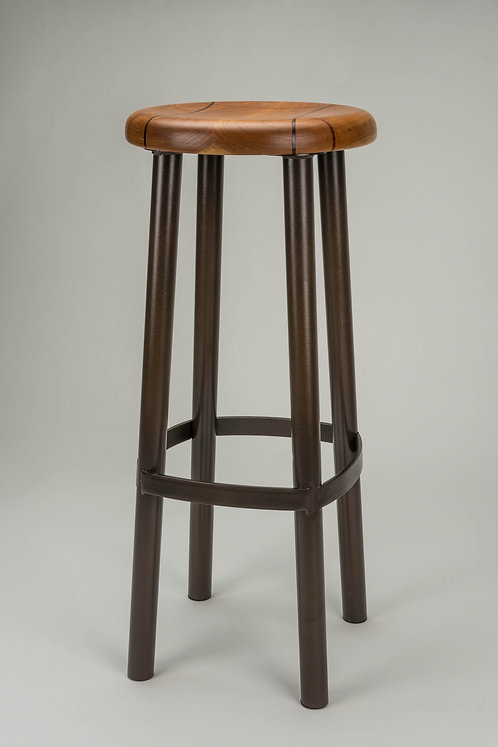 #202 Standard Stool Tall - Cherry/Leatherwood