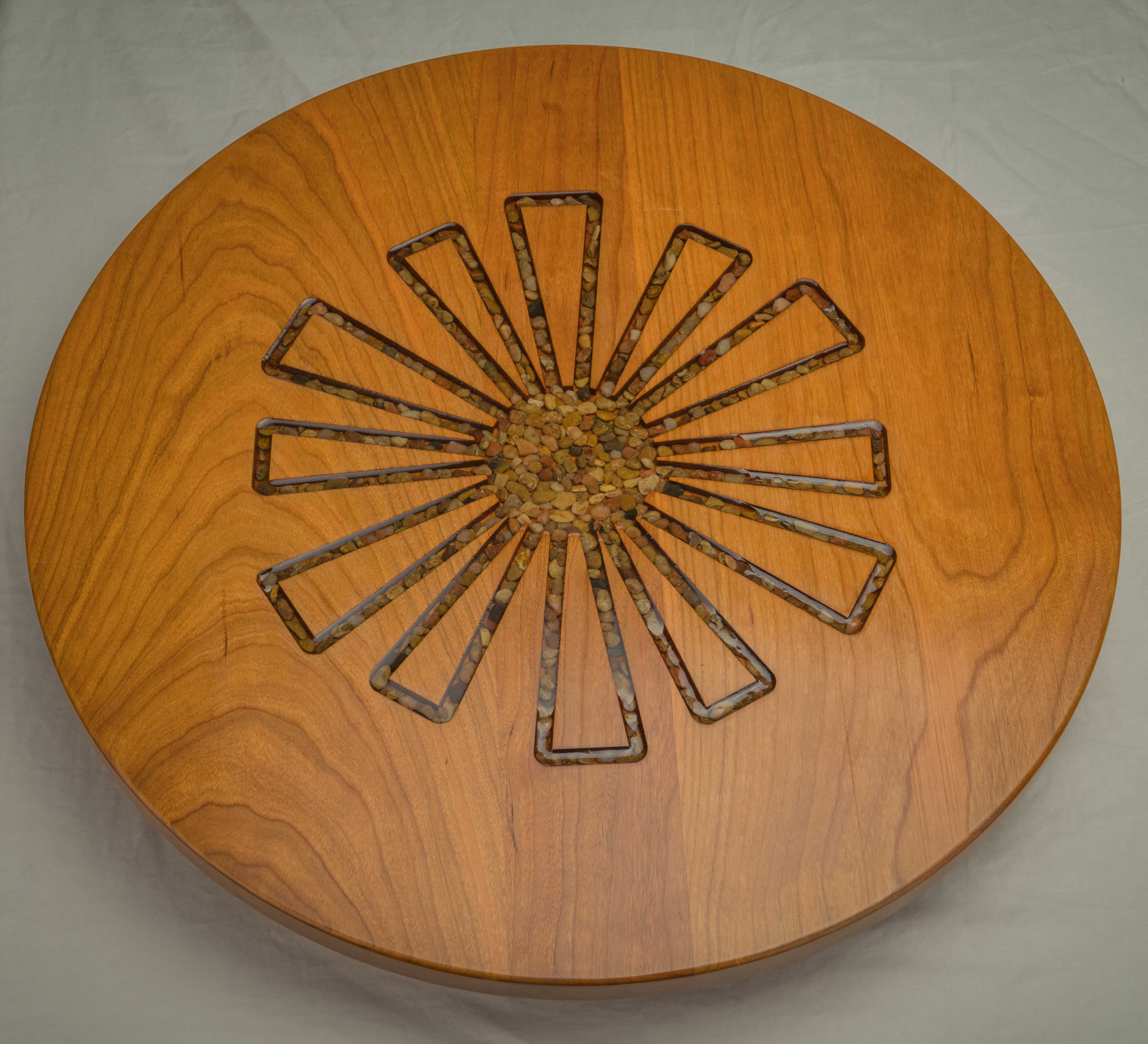 "#129 ""Sunburst"" Lazy Susan"
