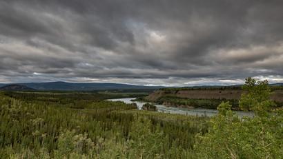 Five Finger Rapids, Klondike Higway