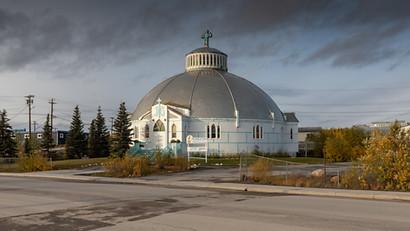 Iglu Kirche, das Wahrzeichen von Inuvik