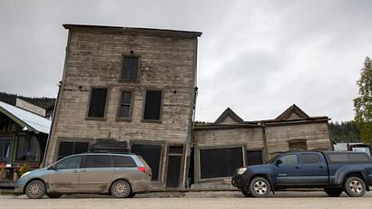 The old Dawson City