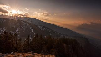 Sonnenuntergang_Piz Alun