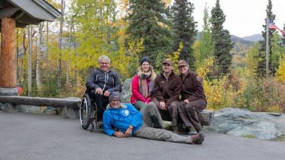 Park Ranger Freunde vom Denali Nationalpark