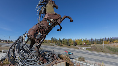Das Pferd, Wahrzeichen von Whitehorse