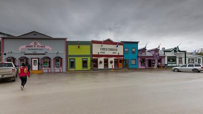 Main Street Dawson City