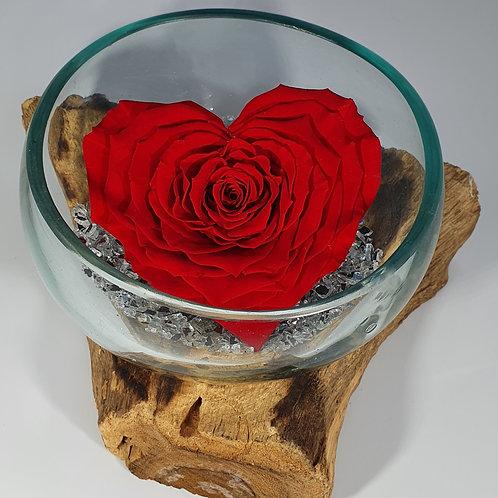XXXL Red Heart Rose
