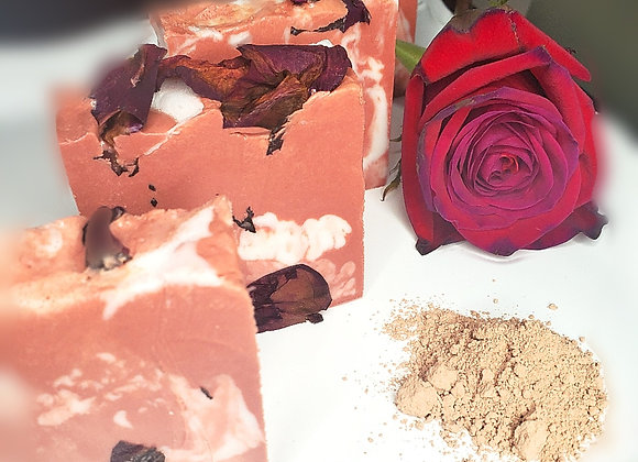 Rose Clay Detox Butter Cleansing Bar