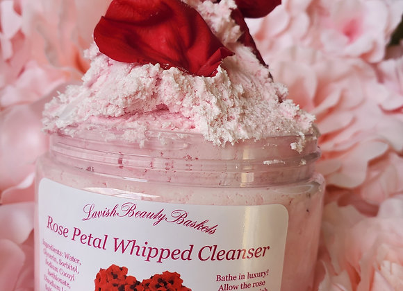 Rose Petal Whipped Cleanser